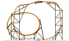 Take on Tigris in 2019 at Busch Gardens Tampa Bay. Check out this rendering of the coaster track!