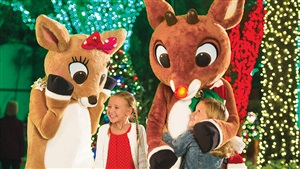 Photo Opportunities with Rudolph the Red-Nosed Reindeer