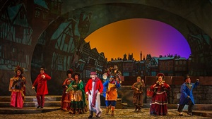 Scrooge No More! Christmas story at Busch Gardens winter event