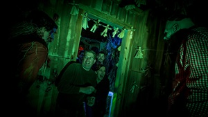 Cornered haunted house in Virginia
