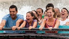 Cool off on our water rides like Escape from Pompeii