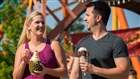 Ice cream and roller coasters in the summer at Busch Gardens Williamsburg