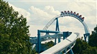 Alpengeist inverted roller coaster at Busch Gardens Williamsburg