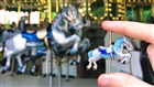 Busch Gardens Williamsburg Silver Horse Pin | Pin Trading Program
