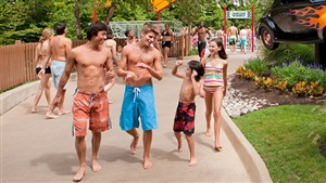 Water parks bring all ages together to have fun