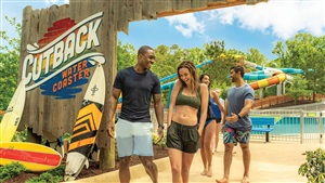 Cutback Water Coaster, Virginia's first water coaster now open at Water Country USA