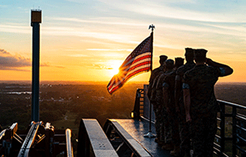 Busch Gardens Tampa Bay is proud to honor all the men and women in the United States Armed Forces and their families.