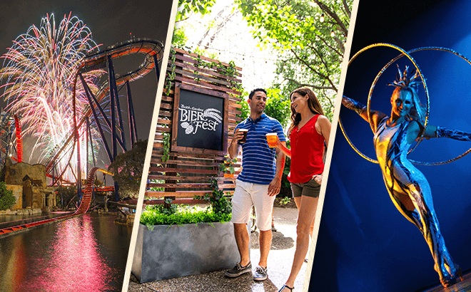 Experience of Busch Gardens' 2019 Events with an Annual Pass