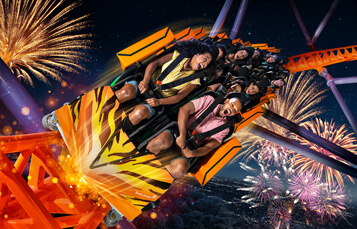 Stay late and take on Tigris in the dark during Summer Nights at Busch Gardens Tampa Bay and enjoy fireworks every weekend