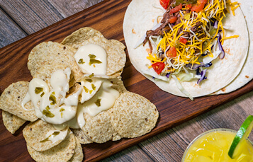 Enjoy delicious food items during Summer Nights at Busch Gardens Tampa Bay like Short Rib Tacos