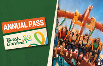 Annual Passes at Busch Gardens Tampa Bay