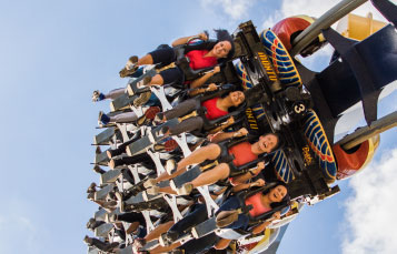 Ride Montu at Busch Gardens Tampa Bay