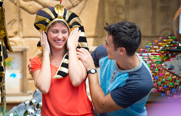 Find great souvenirs at the Cobra's Crypt at Busch Gardens Tampa Bay