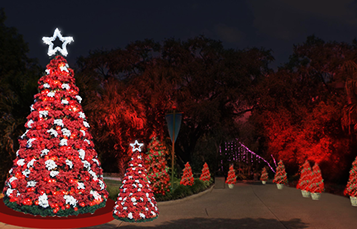 Busch Gardens Tampa Bay Christmas Town 2017 Lights and shows