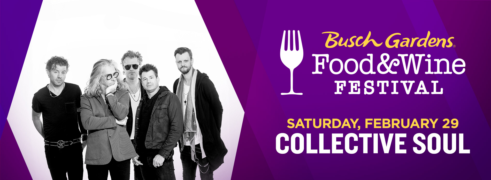 Collective Soul at Busch Gardens on Saturday, February 29