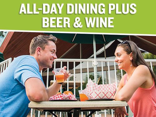 All-Day Dining Plus Beer and Wine Upgrade