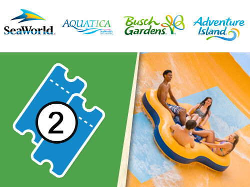 Ticket Discounts For Single Day Multi Park Busch Gardens Tampa Bay
