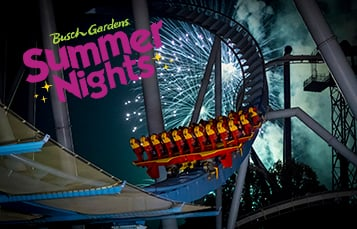 Get Ready for Summer Nights at Busch Gardens Williamsburg!