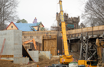 Take a behind-the-scenes look at the construction going on at Busch Gardens Williamsburg and Water Country USA