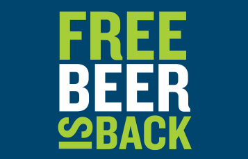 Free Beer is Back for Members and Annual Passholders