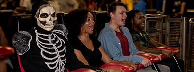 Beware of scare actors as thrill ride companions at Howl-O-Scream