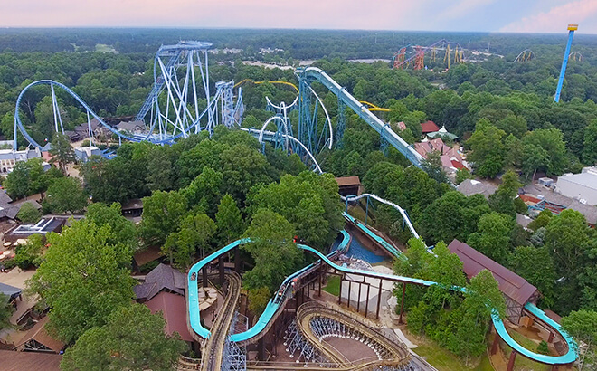 Virginia theme park water park busch gardens williamsburg - Busch gardens williamsburg rides ...