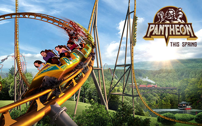 Pantheon - the World's Fastest Multi-Launch Coaster, coming this spring to Busch Gardens Williamsburg!