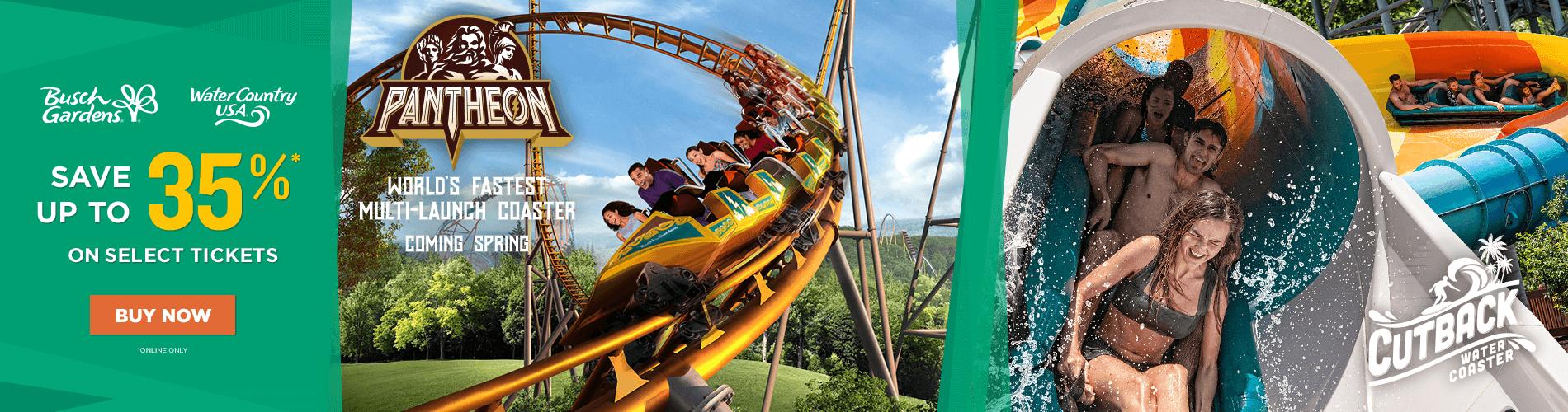 Virginia Theme Park Water Park Busch Gardens Williamsburg