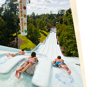 Water Country USA - Nitro Racer body slide