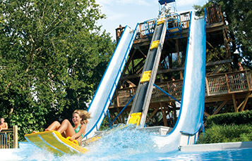 Rampage water slide at Water Country USA