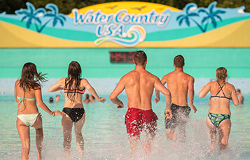 Surfer's Bay Wave Pool at Water Country USA