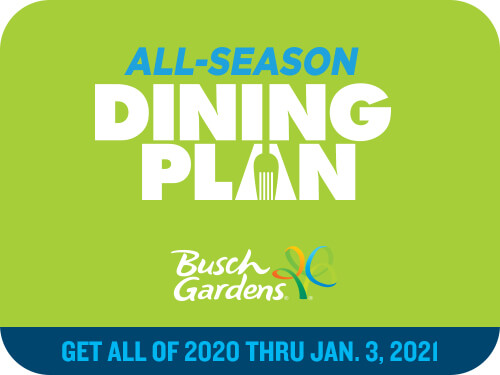 Busch Gardens Williamsburg All-Season Dining