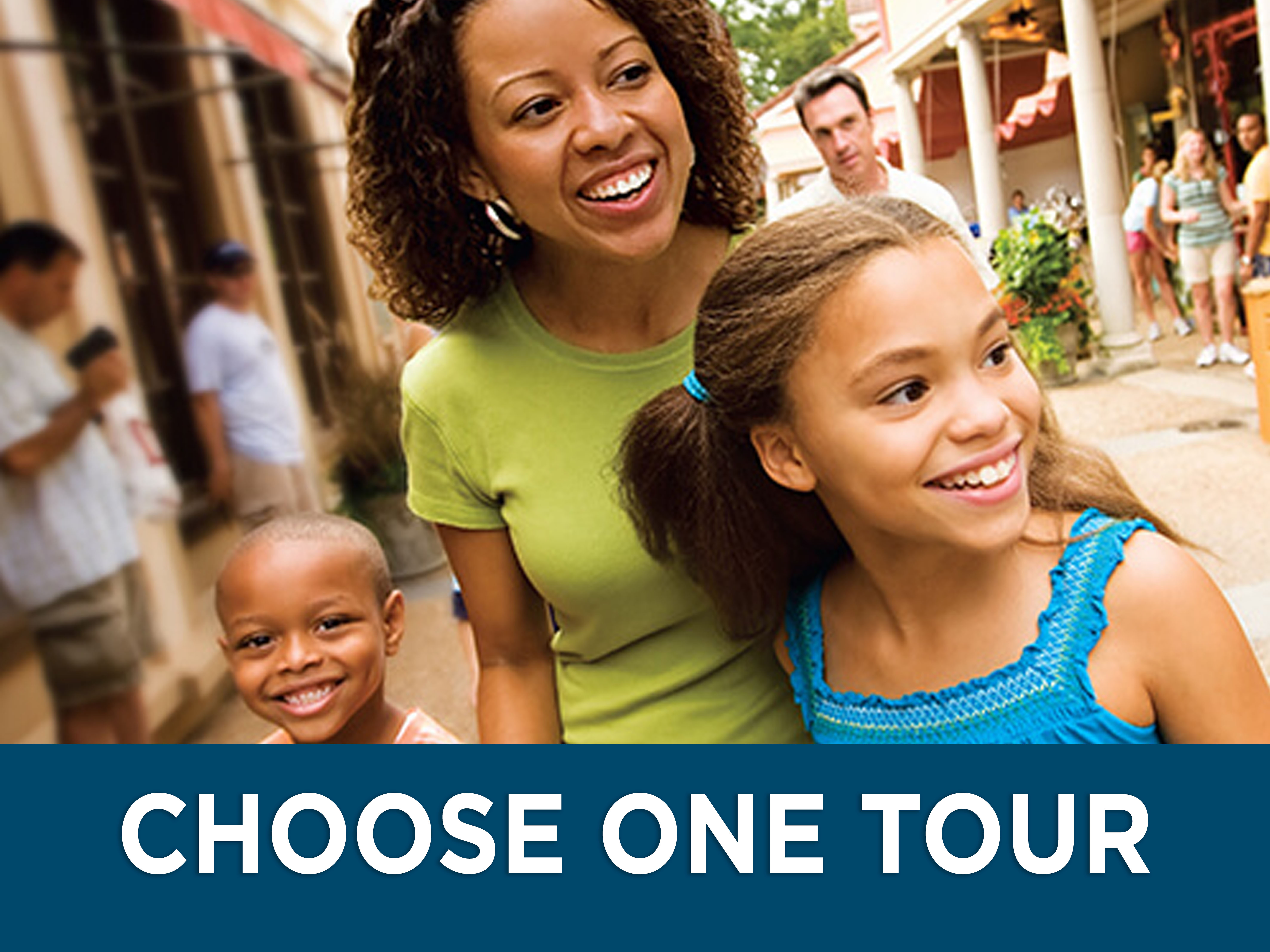 Busch Gardens Williamsburg Guided Adventure Tours with kid-friendly and general park experiences available.
